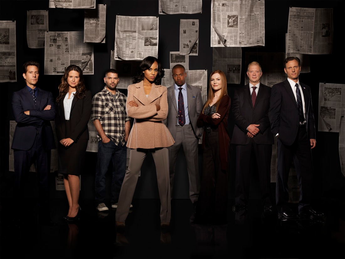 HENRY IAN CUSICK, KATIE LOWES, GUILLERMO DIAZ, KERRY WASHINGTON, COLUMBUS SHORT, DARBY STANCHFIELD, JEFF PERRY, TONY GOLDWYN