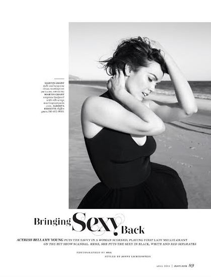 Bellamy Young MORE Magazine 2