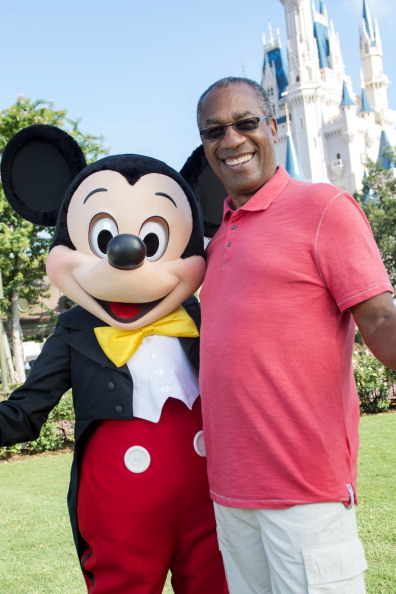 Joe Morton Visits Walt Disneyland