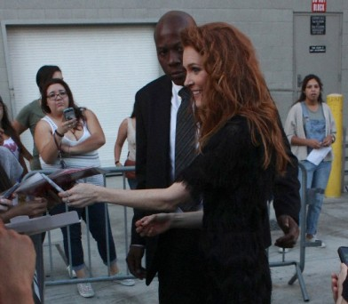Darby Stanchfield at 'Jimmy Kimmel Live'