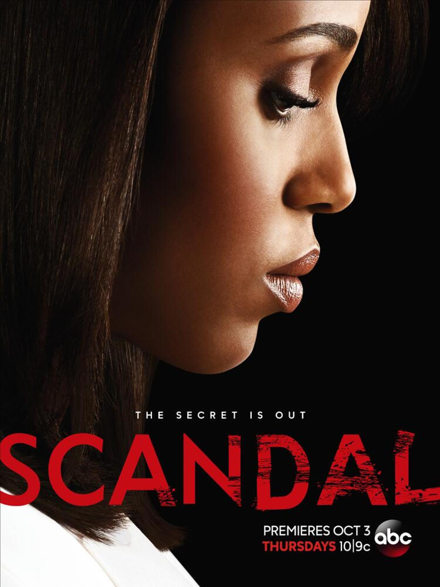 O Scandal Season Poster