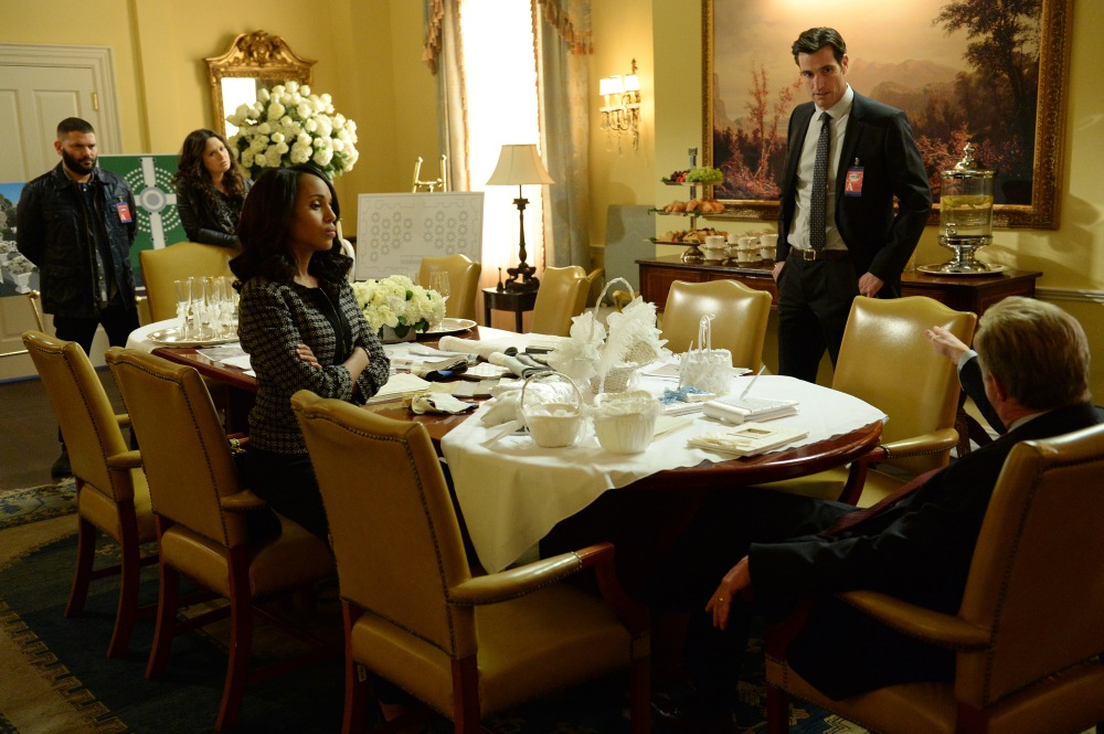 GUILLERMO DIAZ, KATIE LOWES, KERRY WASHINGTON, MATTHEW DEL NEGRO, JEFF PERRY