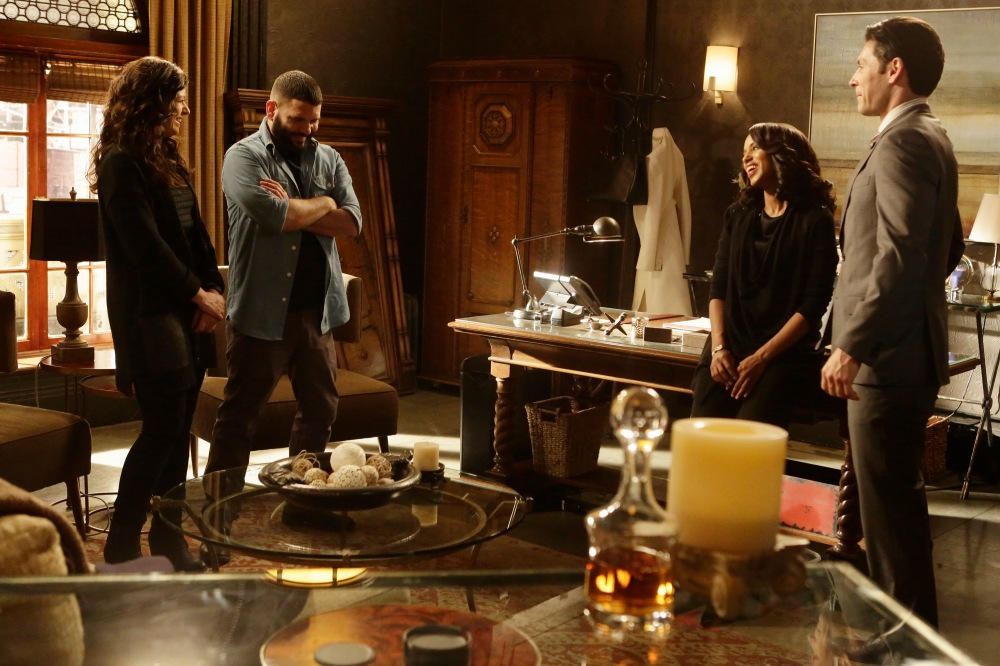 KATIE LOWES, GUILLERMO DIAZ, KERRY WASHINGTON, JORDAN BELFI