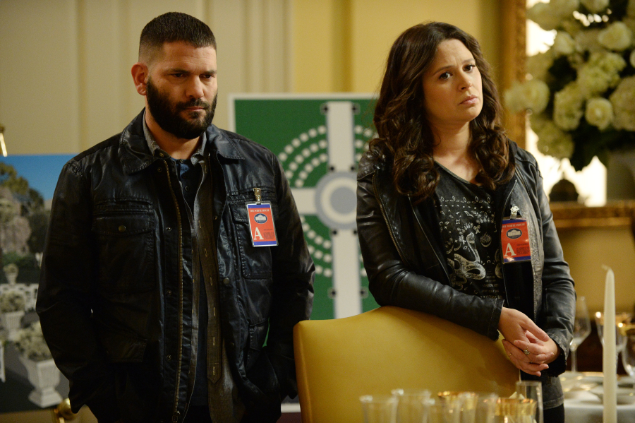 GUILLERMO DIAZ, KATIE LOWES