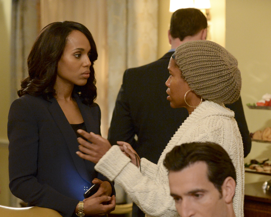 KERRY WASHINGTON, REGINA KING (DIRECTOR), MATTHEW DEL NEGRO (OBSCURED)