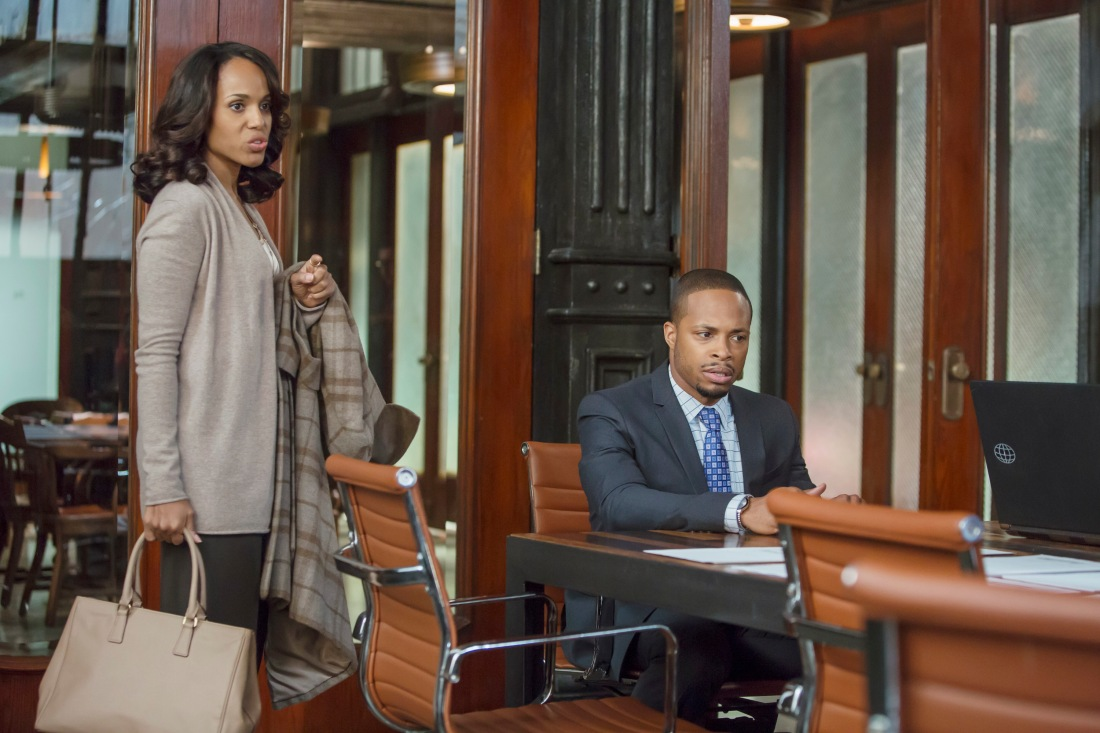 KERRY WASHINGTON, CORNELIUS SMITH JR.